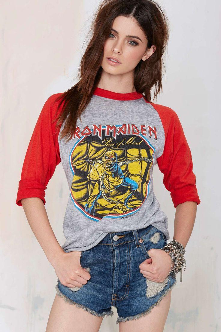 Vintage Iron Maiden Piece of Mind Tee