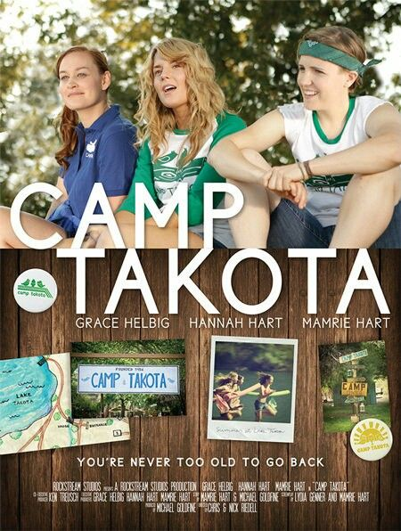 I have to watch Camp Takota! Grace Helbig, Mamrie Hart, and Hannah Hart are in this :D
