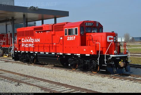 RailPictures.Net Photo: CP 2207 Canadian Pacific Railway EMD GP20C-ECO at Muncie, Indiana by Brian T. Marsh