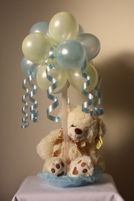 Gift Balloon Topiary.  Do this with Minnie Mouse for Ava's party