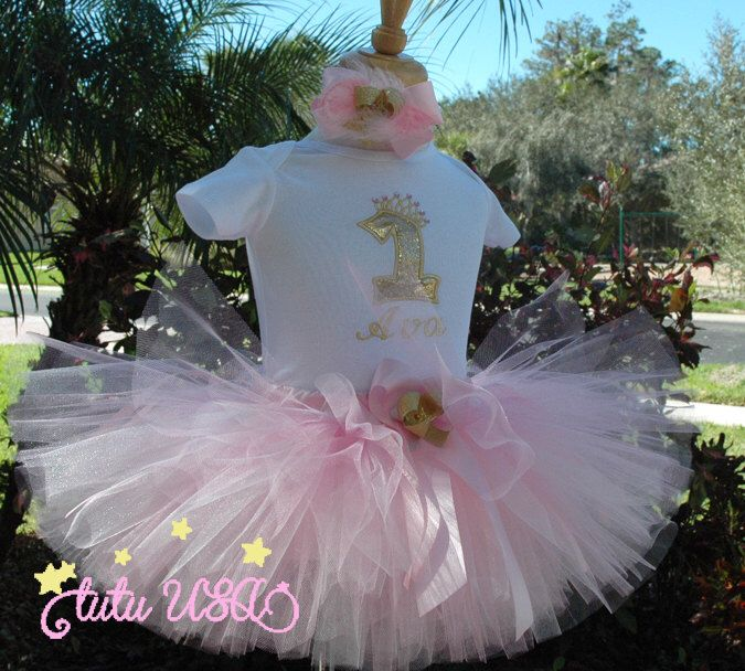 Excited to share the latest addition to my #etsy shop: 1st birthday girl outfit,pink and gold,1st birthday outfit,one year old girl,first birthday,1st birthday onesie,pink gold,tutu,boho,tutu