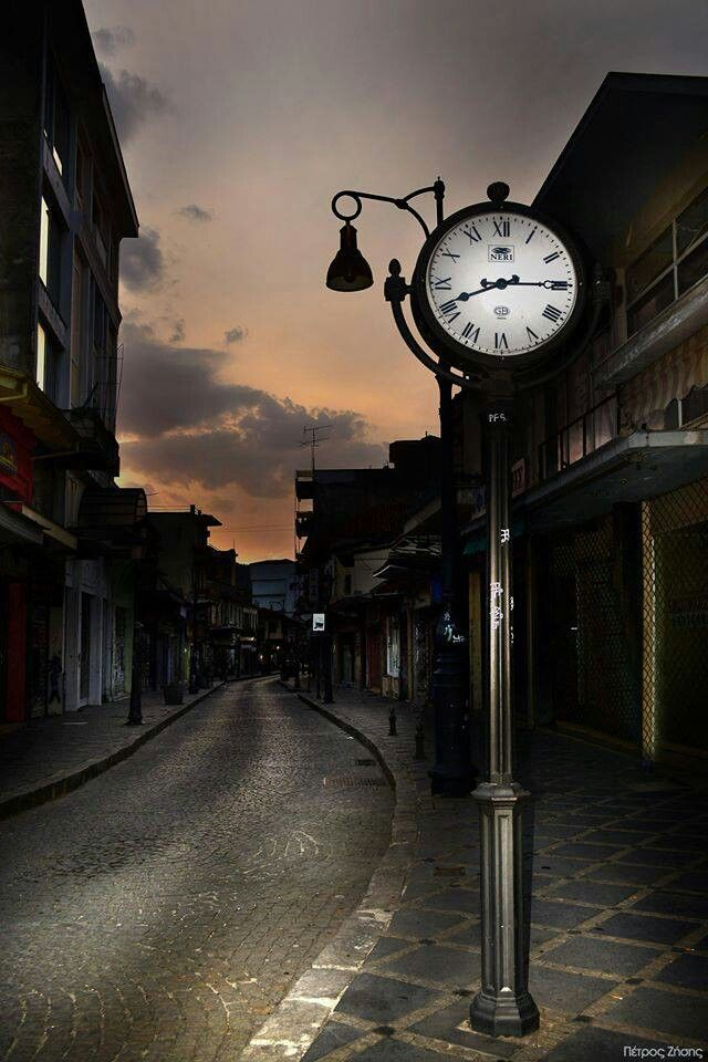 """The clock,"" Anexartisias street, Ioannina, Greece"
