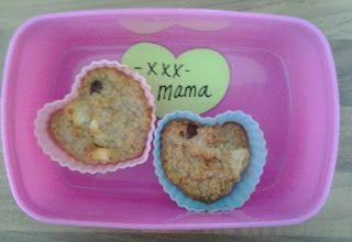 Bianca's suikervrije en makkelijke recepten: Appeltaart muffins lactose, gluten en suikervrij!