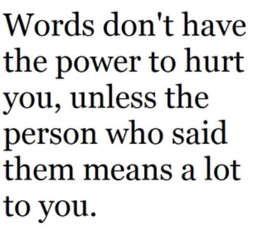 18 best images about Words Can Hurt on Pinterest | Flaws, Say ...