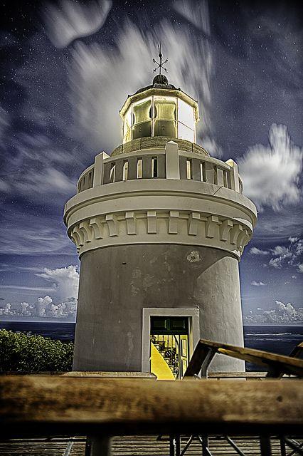 Faro de Las Cabezas de San Juanhighest point of Cape San Juan FajardoPuerto Rico 18.381111, -65.618250   by projectmoonlightcafe, via Flickr