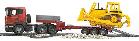 Bruder Scania R Series Low Loader