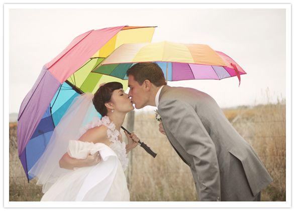 umbrellas as wedding decor