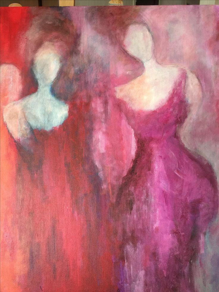 Acrylic 70x90. Karina Ravneng