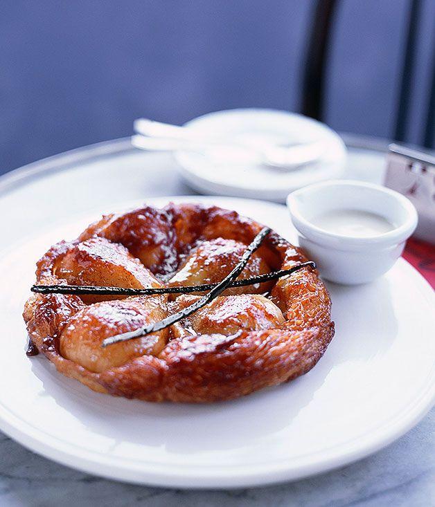 Pear tarte Tatin - Gourmet Traveller