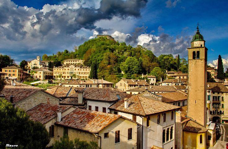 An important medieval town near Romano d'Ezzelino: ASOLO