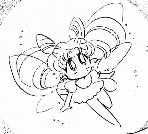 Sailor Moon / chibi Moon fairy | coloring pages ...