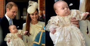 Traje de Príncipe George é uma réplica da roupa que a família real usa há 172 anos - A bata usada pelo príncipe George imita a roupa com a qual o primeiro filho da rainha Victoria foi batizado em 1841. Mais de 60 bebês já usaram o traje. Veja