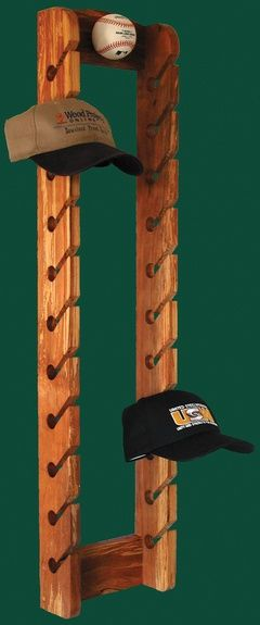 Wood Projects Online Home Accents Play Ball Hat Rack