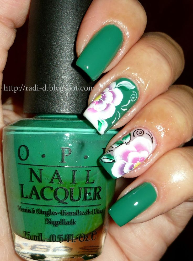 345 best one stroke nail art images on pinterest nail art its all about nails nail nails nailart prinsesfo Image collections