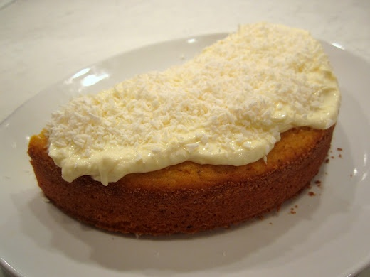 clementinecake - easy to make, very filling and very, very tasty.