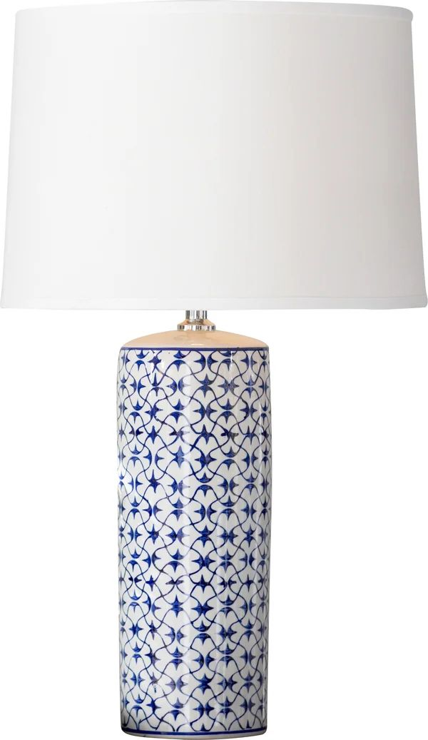 28 5 Blue White Table Lamp In 2021 Lamp Stylish Table Lamps Table Lamp