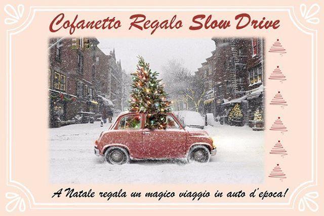 Tempo di regali! 🎅🏻🎁 Time to get the Christmas gifts! #santaiscoming #slowdrive #vintagecarrental #slowdriveeverywhere #christmas #natale #gift #regalo #giftforhim #giftsforher #christmasiscoming #vintagecar #classiccar  A Natale regala un magico viaggio in auto d'epoca! #giftbox #christmasday #celebration #celebrate #holiday #merrychristmas #christmasspirit #santaclaus 🎁