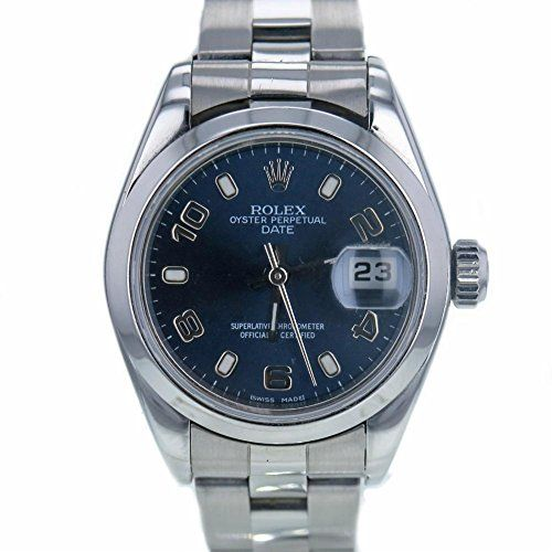 Rolex Date swiss-automatic womens Watch 79160 (Certified Pre-owned) ** Check out...