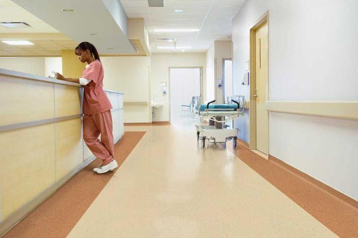 Korytarze - Placówki medyczne - Zastosowanie - Wykładziny - ARTE