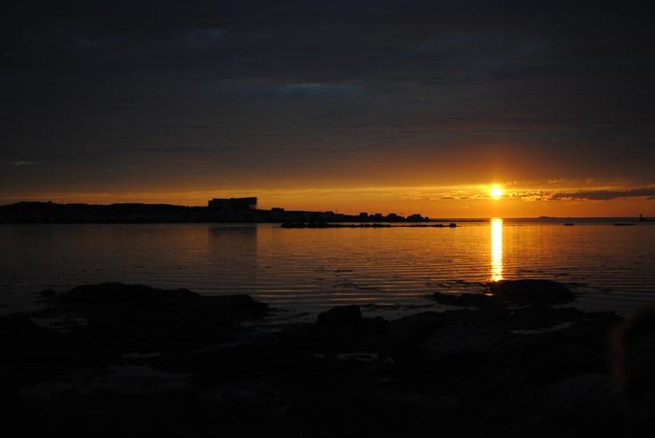 sunset in joe batts arm