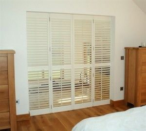Patio Door Shutters. Widest Range Of Colours, Styles And Materials For All  Types Of