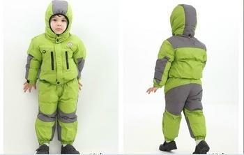 Лыжные детские куртки брюки