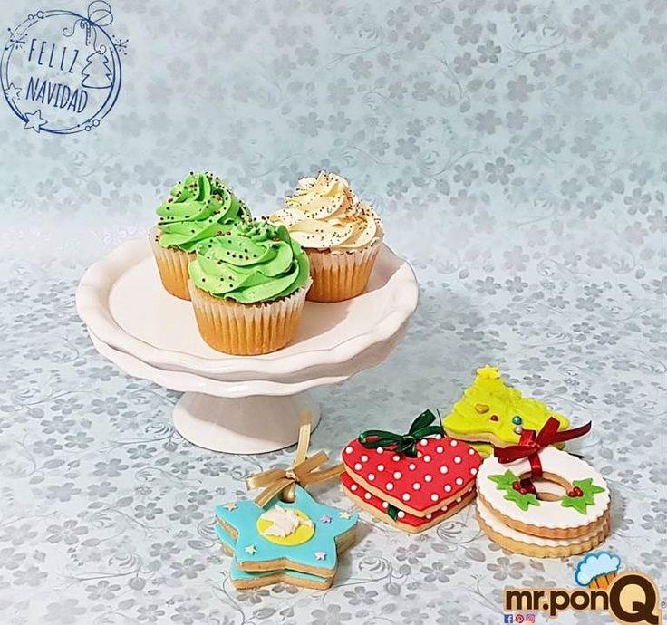 Cup-cakes, galletas, ricos para disfrutar y compartir.