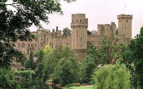 Warwick Castle...go inside and its like you've stepped back 500+ years in history.