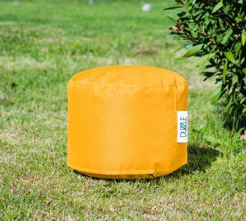 Duzzle pouf imbottito impermeabile giallo