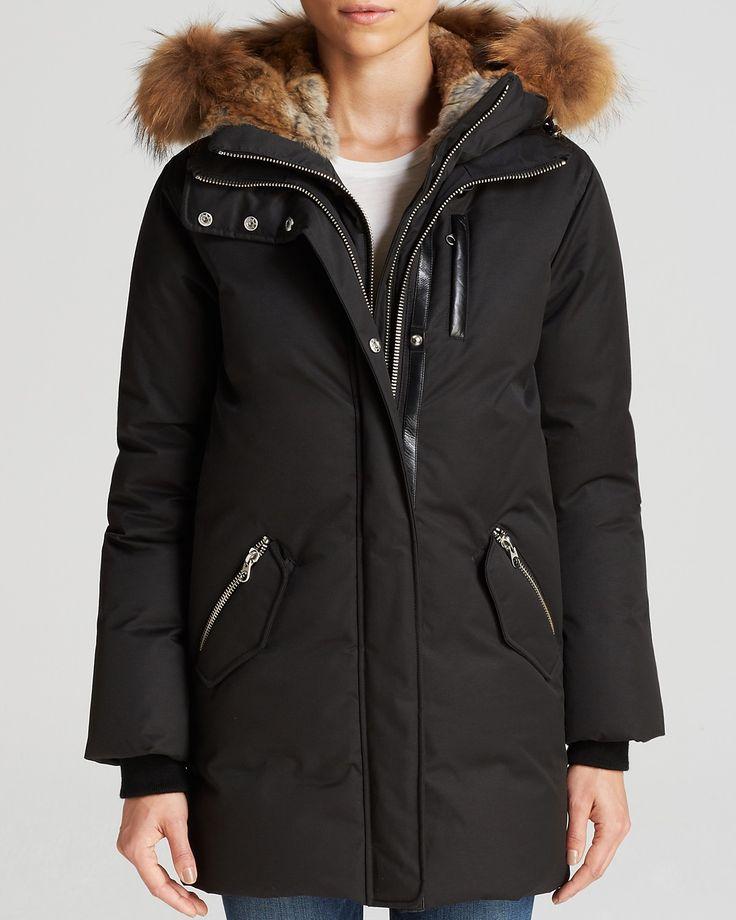 Mackage Fur Trim Marla Lavish Down Coat | Bloomingdale's