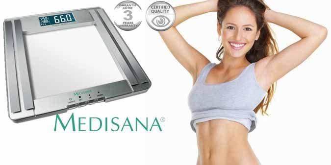 €29 από €60 (Έκπτωση 52%) για 1 Ζυγαριά - Λιπομετρητή MEDISANA PSM Glass Fat Scale! Επώνυμη, Πιστοποιημένη και με 3 Χρόνια Εγγύηση!! Προσφέρει Άμεση, Ακριβή και Λεπτομερή Μέτρηση του Βάρους σας με Υπολογισμό Δείκτη Μάζας Σώματος, Ανάλυση Σωματικού Λίπους & Υγρών καθώς και Μυϊκής και Σκελετικής Μάζας! Mε Άμεση Παραλαβή από τα Γραφεία του Skroutz.com.cy ή Παγκύπρια Αποστολή. ΕΤΟΙΜΟΠΑΡΑΔΟΤΗ!!
