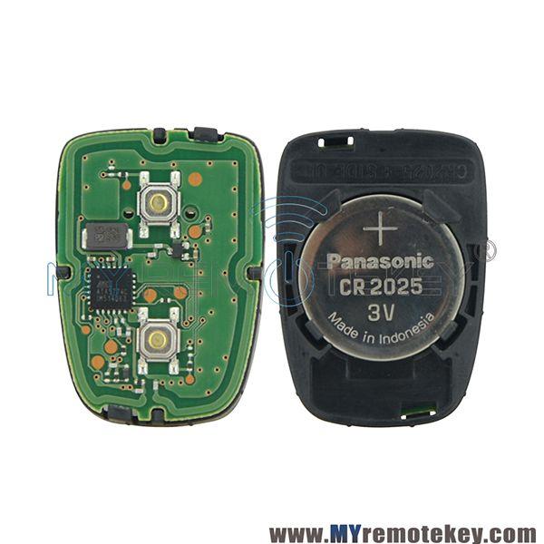 Oem Remote Fob Car Key Control 2 Button 434mhz For Toyota Avanza Toyota Car Keys Remote