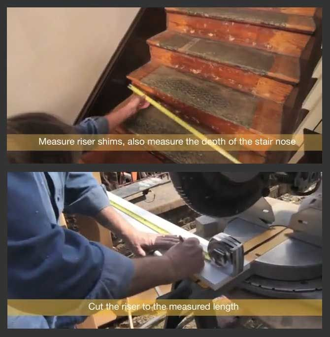 How To Refinish Or Retread Stairs Step By Step