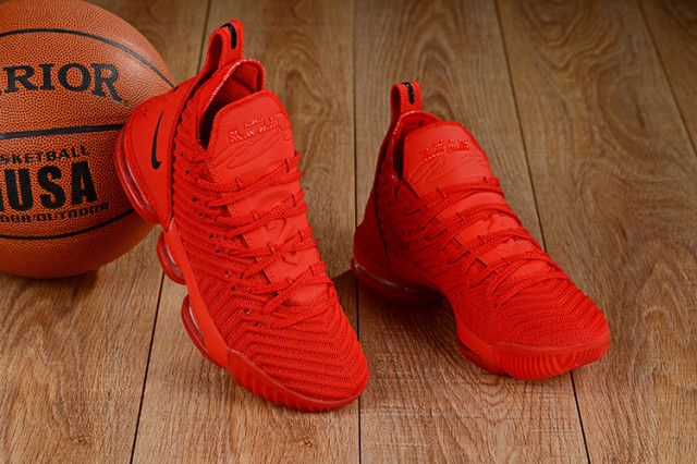 lebron 16 shoes red