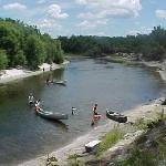 Peace River, FL - sharks teeth & fossil hunting, kayaking, camping