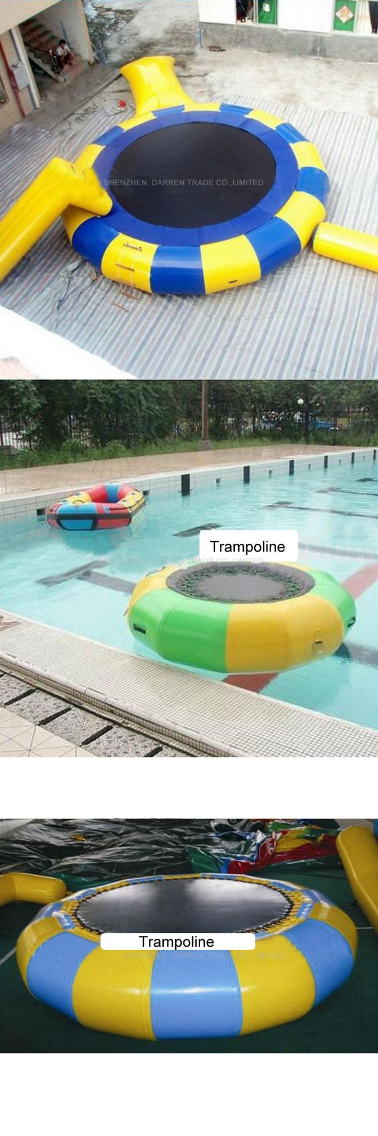 2.5M inflatable water trampoline Inflatable Water Jumping Bed  Water Trampoline