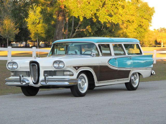 1958 Edsel Bermuda Woodie