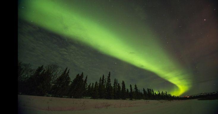 Aurora boreal dá show no céu do Alasca - Fotos - Ciência