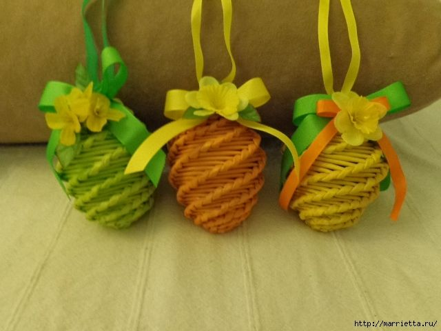 MK. IDEAS - Easter eggs from newspaper tubules. - Пасхальные яйца из газетных трубочек. Идеи и мастер-класс (54) (640x480, 192Kb)
