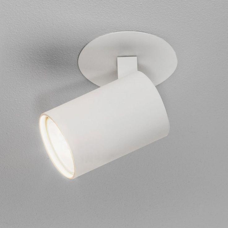 Astro Ascoli Recessed Spotlight in White - Kitchen Lighting from Dusk Lighting UK