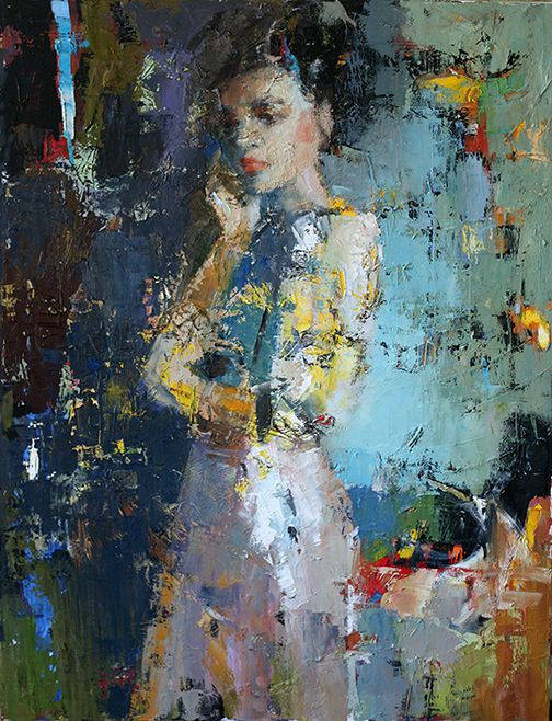 art of julia klimova new paintings painted people painted faces-i lost you in my mind lyrics painted faces 1988