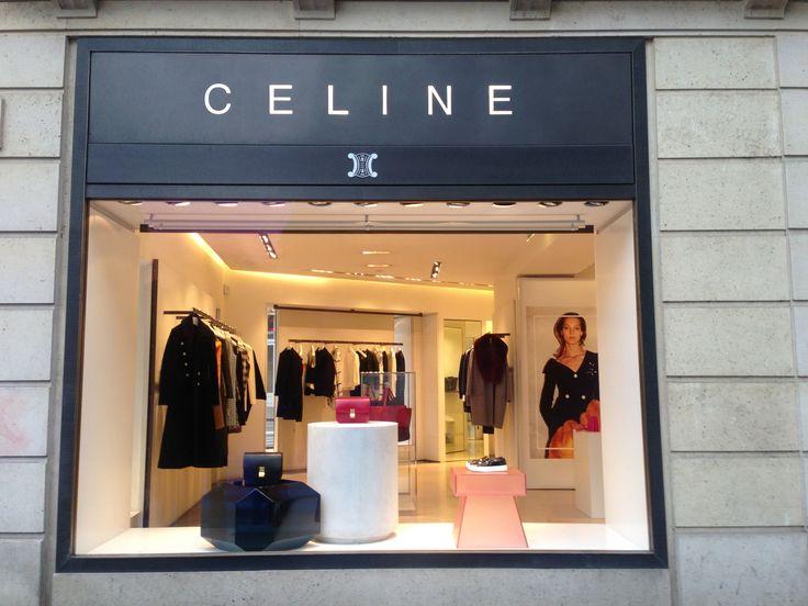 Céline Paris - windows displays