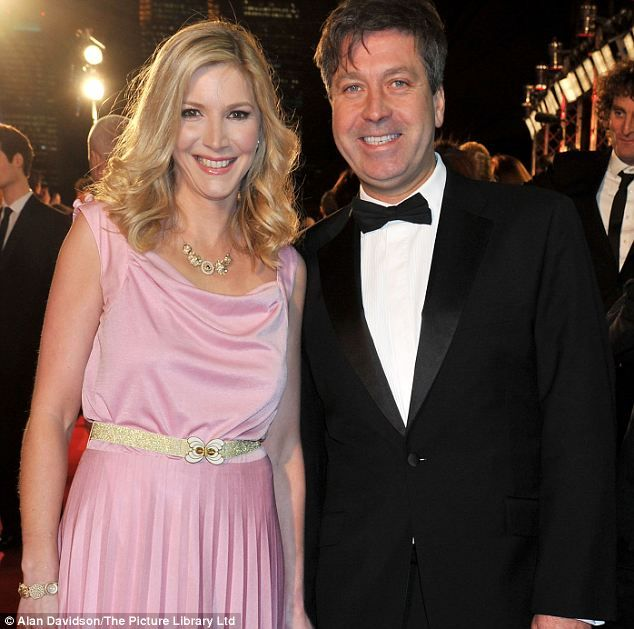 Romance: Lisa Faulkner and John Torode, who was yesterday granted a decree nisi…