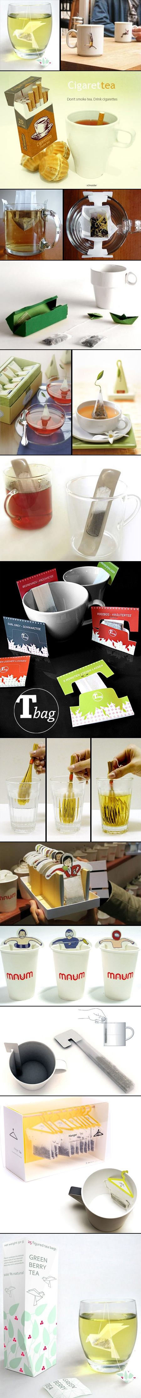 Tea Packaging - clever minds.