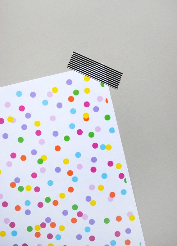 free printable 'confetti' paper