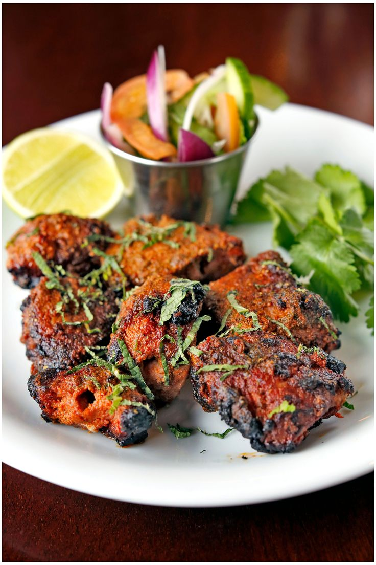 Dishoom has become synonymous with moreish Indian food designed to be eaten throughout the day. You'll find no tikka masala here! Try traditional lamb boti kababs for dinner tonight. This recipe was created by Dishoom's executive chef, Naved Nasir