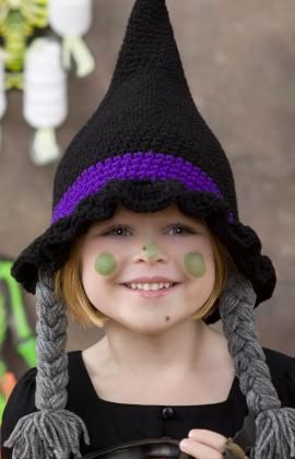 Reason #5,239 why I need to learn to crochet... Betwitching Hat - free crochet pattern - So cute & fun for make-believe.