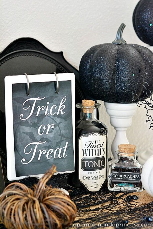 how to create a classy halloween - Classy Halloween Decorations