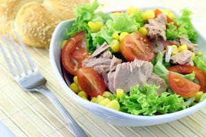 Healthy vegetable salads