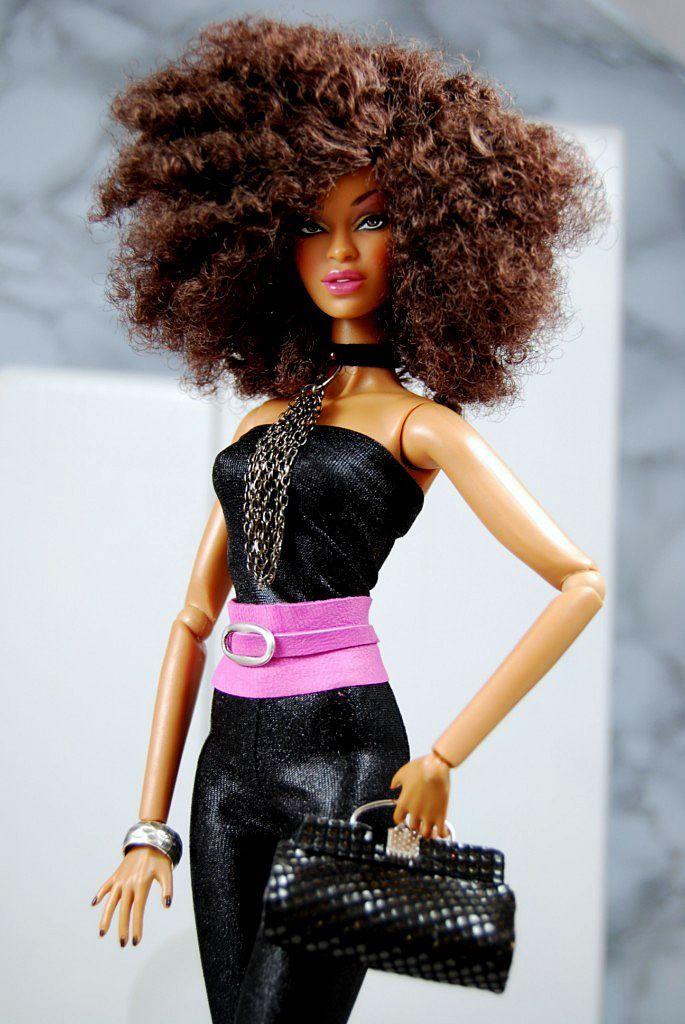 Pin By Bronze Magazine On Dolled Up  Beautiful Barbie Dolls, Black Barbie, Barbie Dolls-3673